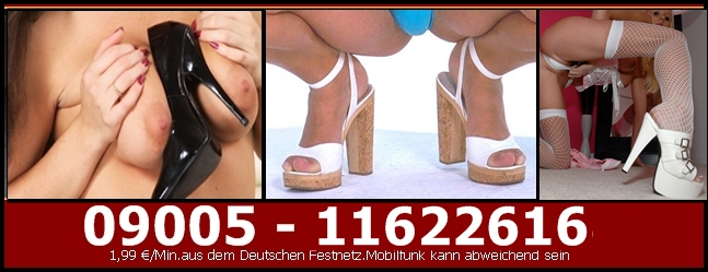 Fuss Fetisch Telefonsex privat - Schuh Fetisch Sex am Telefon